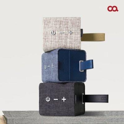 [오아] 스퀘어린넨 휴대용 고음질 블루투스 스피커