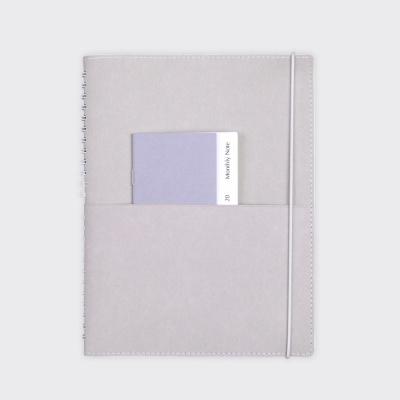Half Diary L - Warm gray
