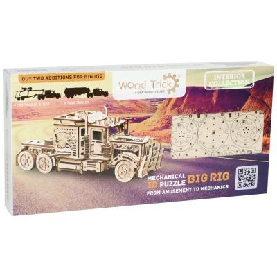 [3D퍼즐마을][우드트릭] WT015 트레일러 트럭