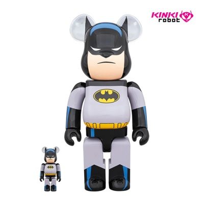 400&100%BEARBRICK BATMAN ANIMATED SET(1911039)