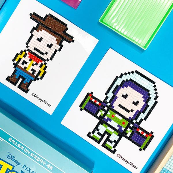 DIY 미키마우스 어린이 보석십자수 스티커형 디즈니 아이러브페인팅
