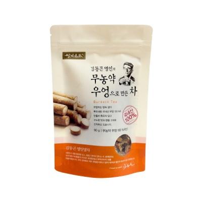 [쌍계명차] 파우치 김동곤명인의 무농약 우엉차 60g
