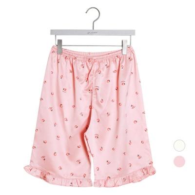 [쿠비카]피치 프린팅  파자마팬츠  커플잠옷 WM225