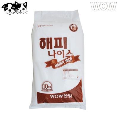 와우 해피나이스 대형패드 10매 (강아지 패드)
