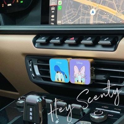 [헤이센티]디즈니 차량용방향제 1개+향기큐브 1개