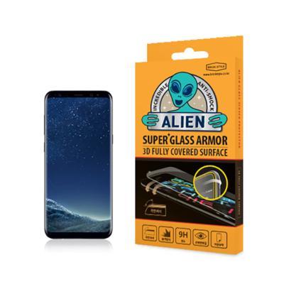 에어리언쉴드 3D 풀커버 강화유리 액정보호필름 갤럭시 S8