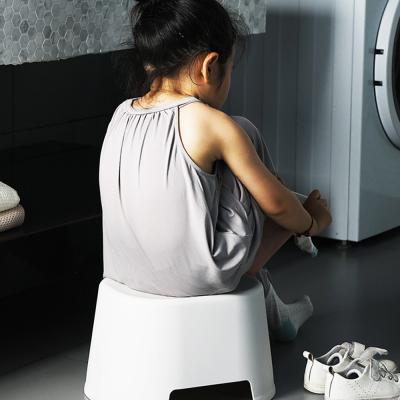 플라스틱 욕실 목욕 스텝 스툴 의자 발디딤대 (소)