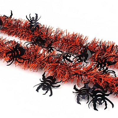 할로윈 장식모루 2M (거미)