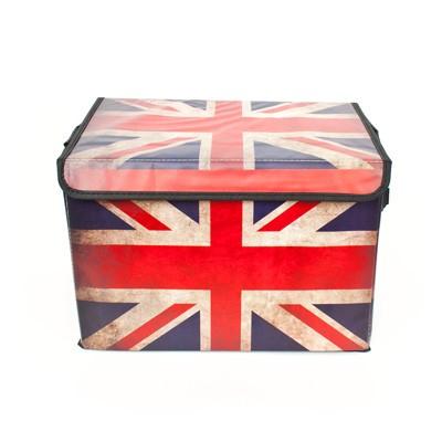 빈티지 영국 접이식 수납박스