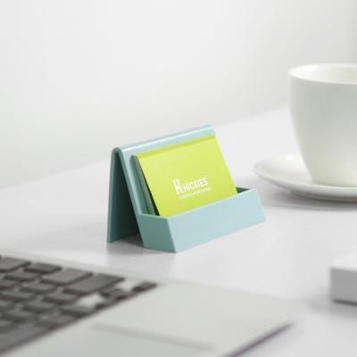사무실 전시회 데스크 정리 명함꽂이 플랫 카드홀더