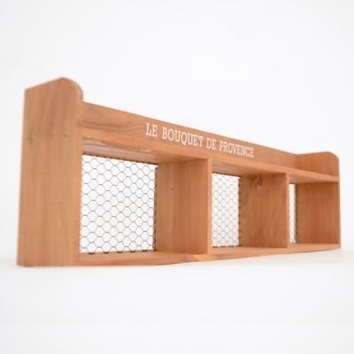 프로방스 브라운 3단 철망 선반 수납공간 추카추카넷