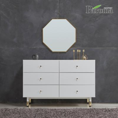 파로마 리베르타 3단 1200 와이드 서랍장 + 거울 WI40