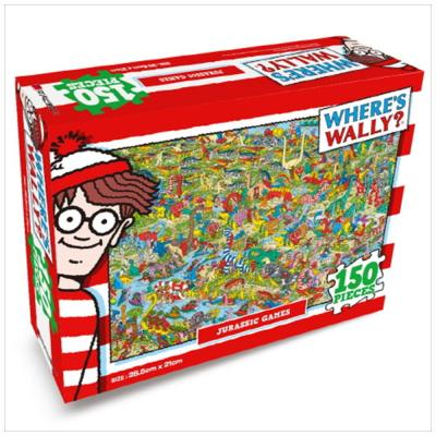월리를 찾아라 직소퍼즐 150pcs: 공룡시대