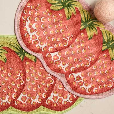 MODERN Strawberry Mat 33x55cm 2color CH1625012