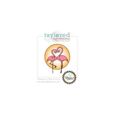 스탬프 Animals in Love - Flamingos TEALC20