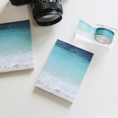 밍키트 여름바다 떡메모지