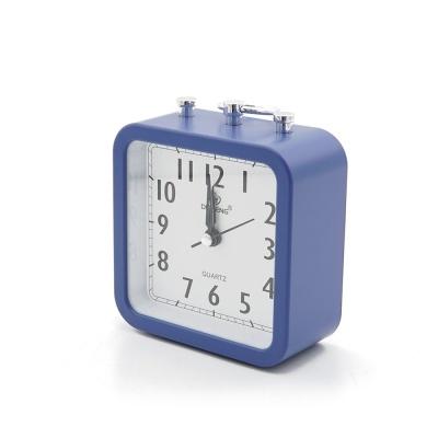 탁상용 아날로그 시계 / 알람시계 (블루) LCID913