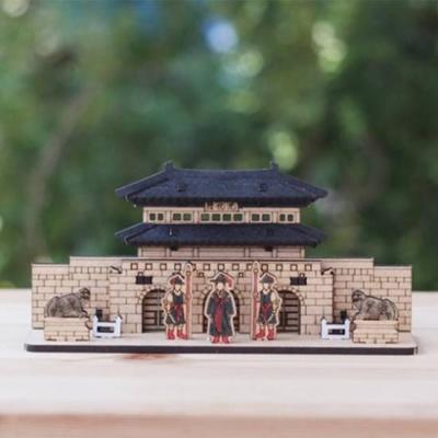 3D입체퍼즐 나무퍼즐 광화문 만들기 수업 놀이키트 장난감 집콕놀이 취미