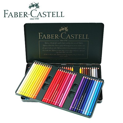 파버카스텔 수채색연필 60색 틴케이스