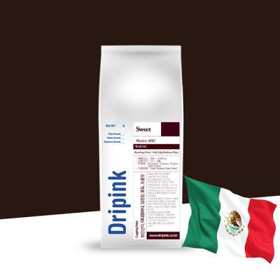 드립핑크 갓볶은 멕시코 SHG 원두커피 500g
