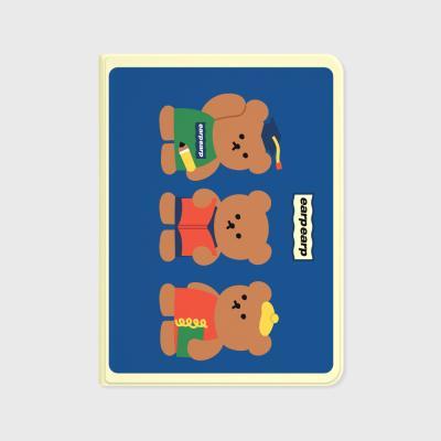 Smart bear friends-blue(아이패드-커버)