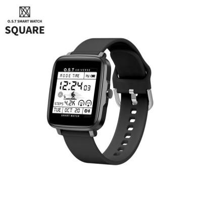 [오에스티] Smart Watch Square Black