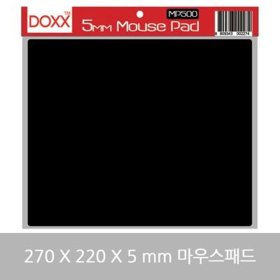DOXX MP 500 게이밍 마우스패드 270X220x5mm