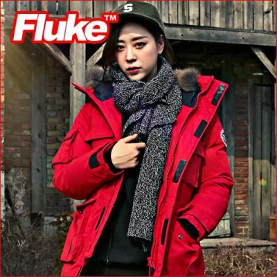 [플루크 패딩] 히말라야 리얼라쿤 다운야상 패딩 점퍼 레드 FPJ1507-RED FLUKE 15FW