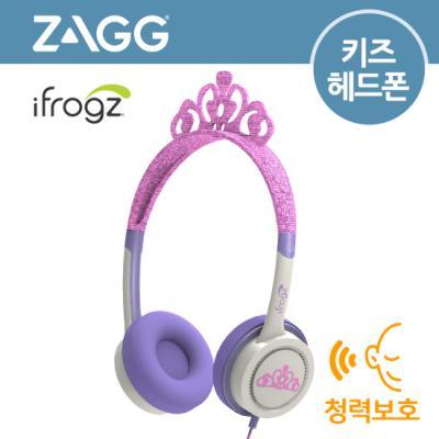 [ZAGG] Little Rockerz OE[핑크 티아라][유아용헤드폰/청력보호]