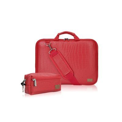 노트북가방 15.4인치(일반형) 악어가죽레드