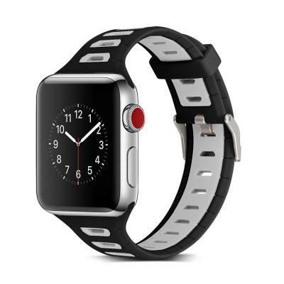애플워치밴드 1 2 3 4 5 스트랩 실리콘 시계줄 스포츠