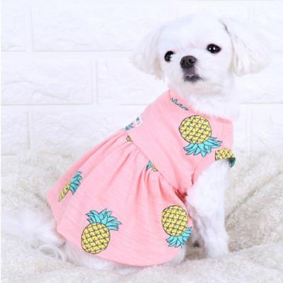 파인애플셔링티셔츠 핑크