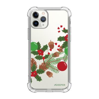 뮤즈캔ADEEPER 아이폰11프로 크리스마스스티커 케이스