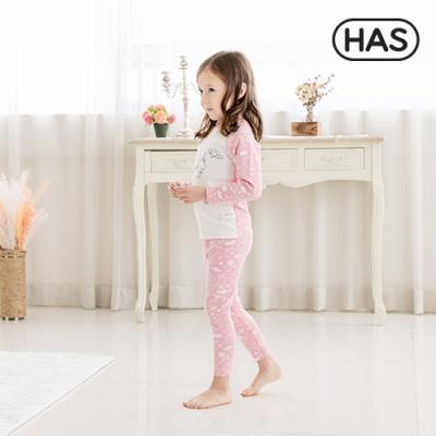 [HAS] 18FW 아동 내의 실내복_핑크유니콘