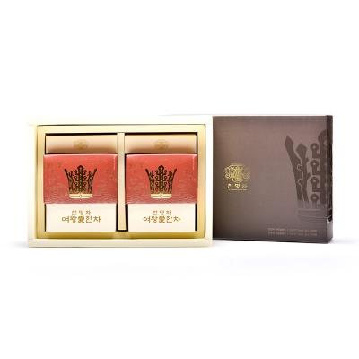 해피하우스 신라 왕실전통차 천명차20포 여왕선물세트