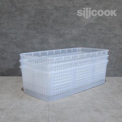 [실리쿡]냉장고문수납 롱트레이대 (3개)