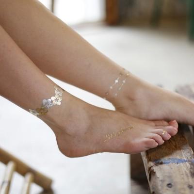 [글림스] 골드타투 금은박타투 GLEAMS White Sheet W-3 / 겟잇뷰티추천상품