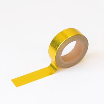 왈가닥스 포일 마스킹테이프 - 51 Gold