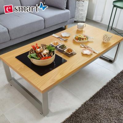 [e스마트] 스마트쿡 좌식 식탁테이블 900x600불판포함