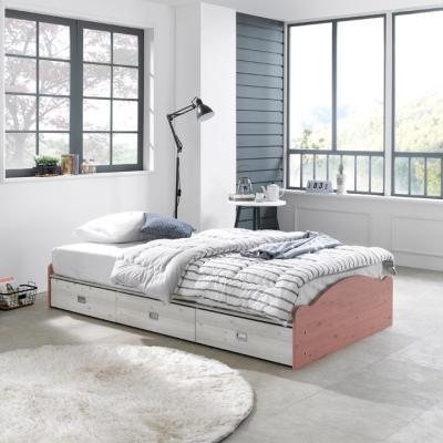 제넌 기본형 슈퍼싱글 침대(매트미포함)