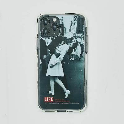 LIFE MARINES KISS GEL HARD PHONE CASE