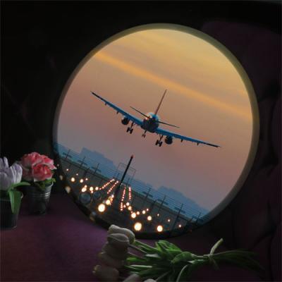 nh831-LED액자45R_활주로위의비행기