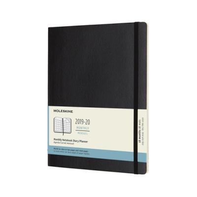 몰스킨 2020먼슬리(18M)/블랙 소프트 XL