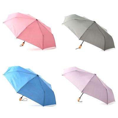플라우나 솔리드 파스텔색상 3단자동우산 5컬러