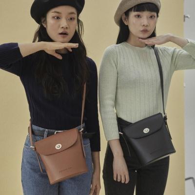 [펀프롬펀]Rachel vintage shoulder bag (black)