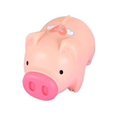 팬시 돼지저금통 핑크 대2호 동전저금통 동전보관함