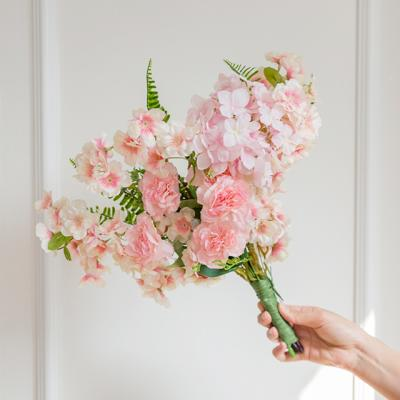 러블리블라썸 핑크벚꽃부케