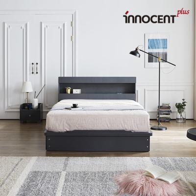 [이노센트] 리브 데이젠 LED 평상형 침대 Q/K