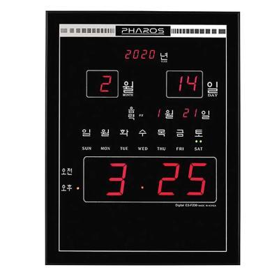 공간 인테리어 디지털 전자벽시계 MUH-230F CH1560627