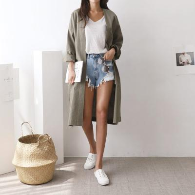 Summer Oversized Long Jacket